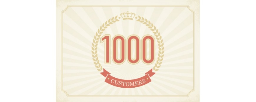 Thousandth Customer!